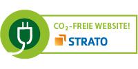 Werbeagentur Darmstadt - Unsere Server werden mit GRÜNER Energie betrieben • Strato CO²-FREIE WEBSEITE